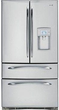 Gentil GE Profile French Door Bottom Freezer Refrigerator   Contemporary    Refrigerators And Freezers