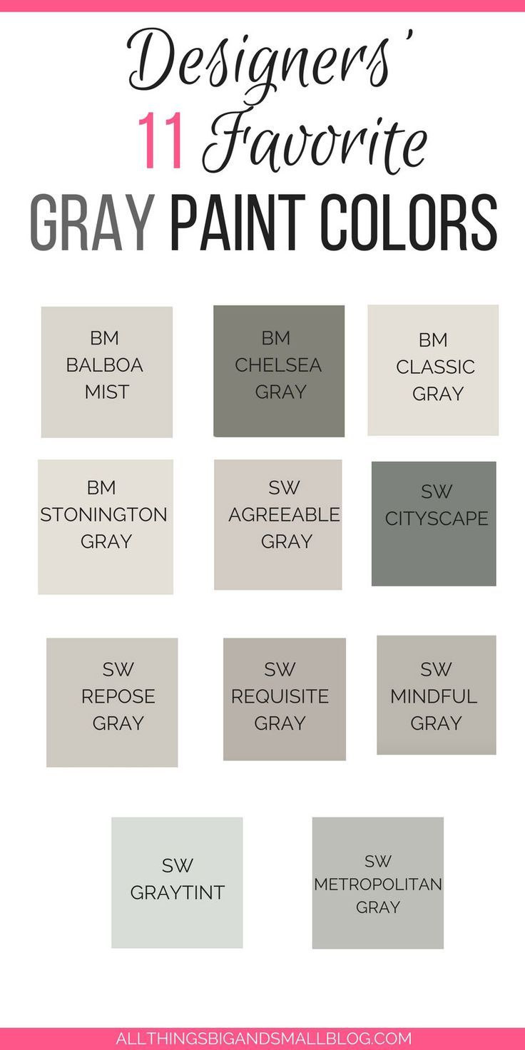 Grey Paint 11 Home Design Bloggers Share Their Favorites Grey