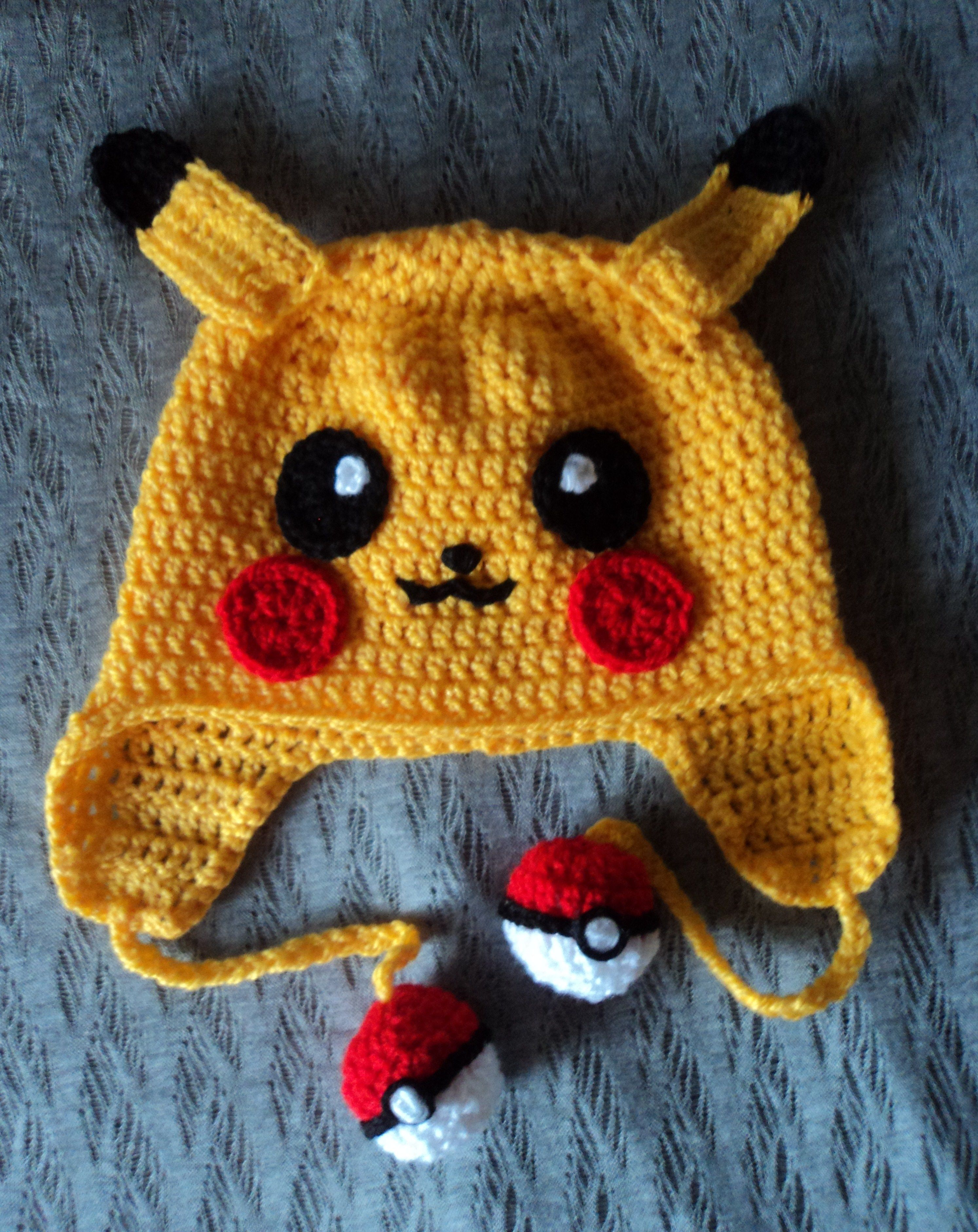 pikachu crochet! Gosh! How I wish I could crochet, mad respect to ...