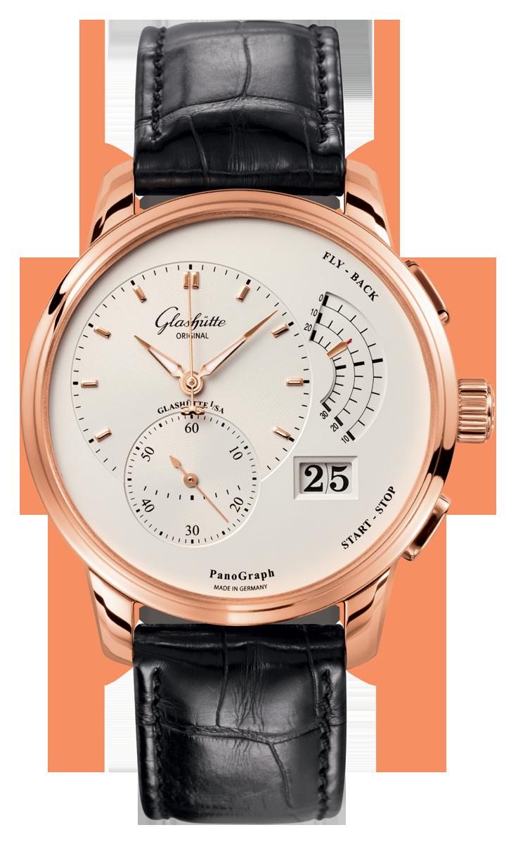 53dda2c44af Glashütte Original PanoGraph Cronógrafo Flyback - 16103251504   Boutique  dos Relógios
