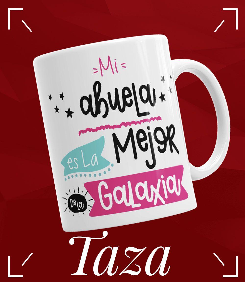 Taza Mejor Abuela De La Galaxia La Cesta Magica Regalos Para Abuelita Regalos Originales Regalos Personalizados