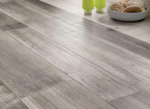 General, Medium Grey Wooden Floor Tiles Closeup: Contemporary Of Wood Look  Tiles House Design