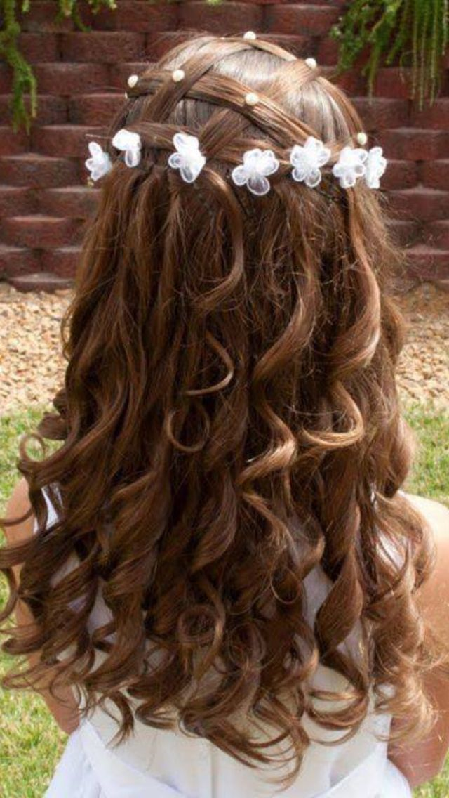 Bat Mitzvah Hairstyles Delectable Flower Girl Hair Ideas  Batmitzvah Hair Ideas  Pinterest  Flower