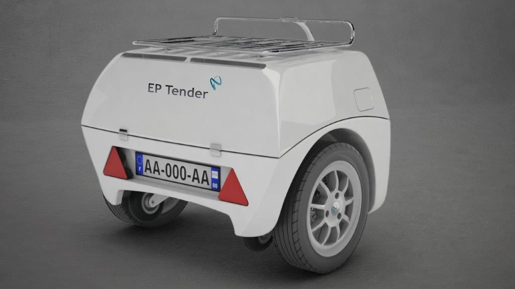 Ep Tender Range Extender Helps Renault Zoe Cover 570 Km On Its Way To The Geneva Motor Show