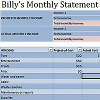 Awesome Monthly ... On Monthly Salary Statement