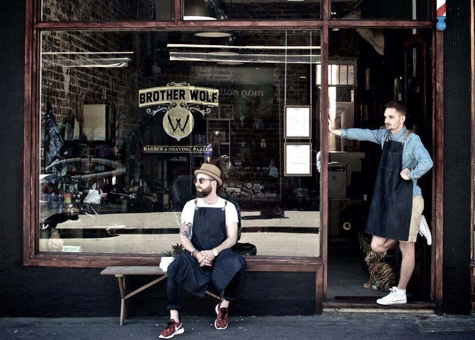 brother wolf barbershop  barber shop
