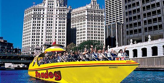 Seadog Cruises Navy Pier Boat Tours Chicago Lake