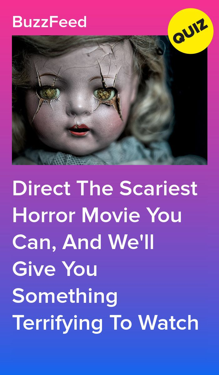 Direct The Scariest Horror Movie You Can, And We'll Give You