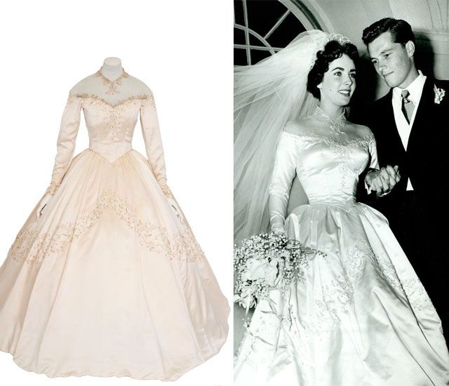 Elizabeth Taylor Wedding Dress Google Search Beunique In Your