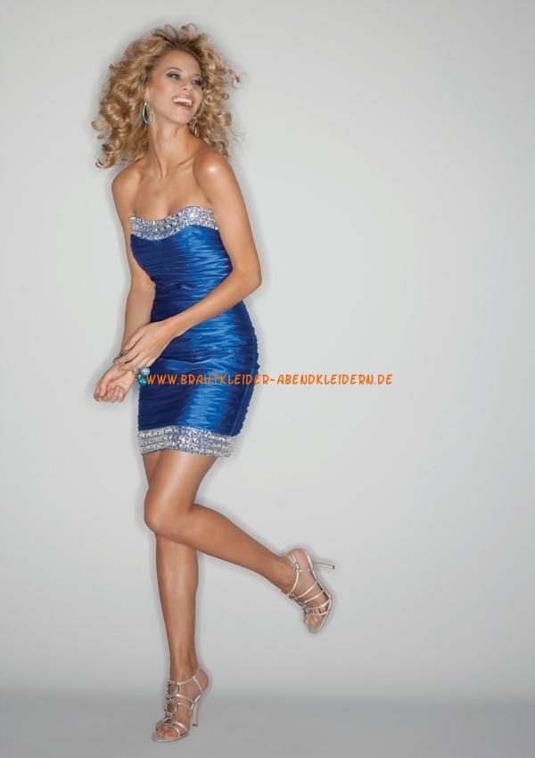 möllig trägerlos Günstige Abendkleider mit Perlenstickerei | populär ...