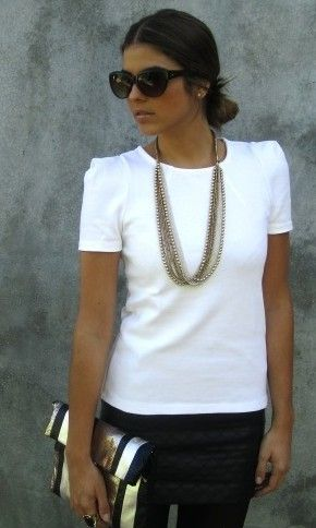So Chic and simple.