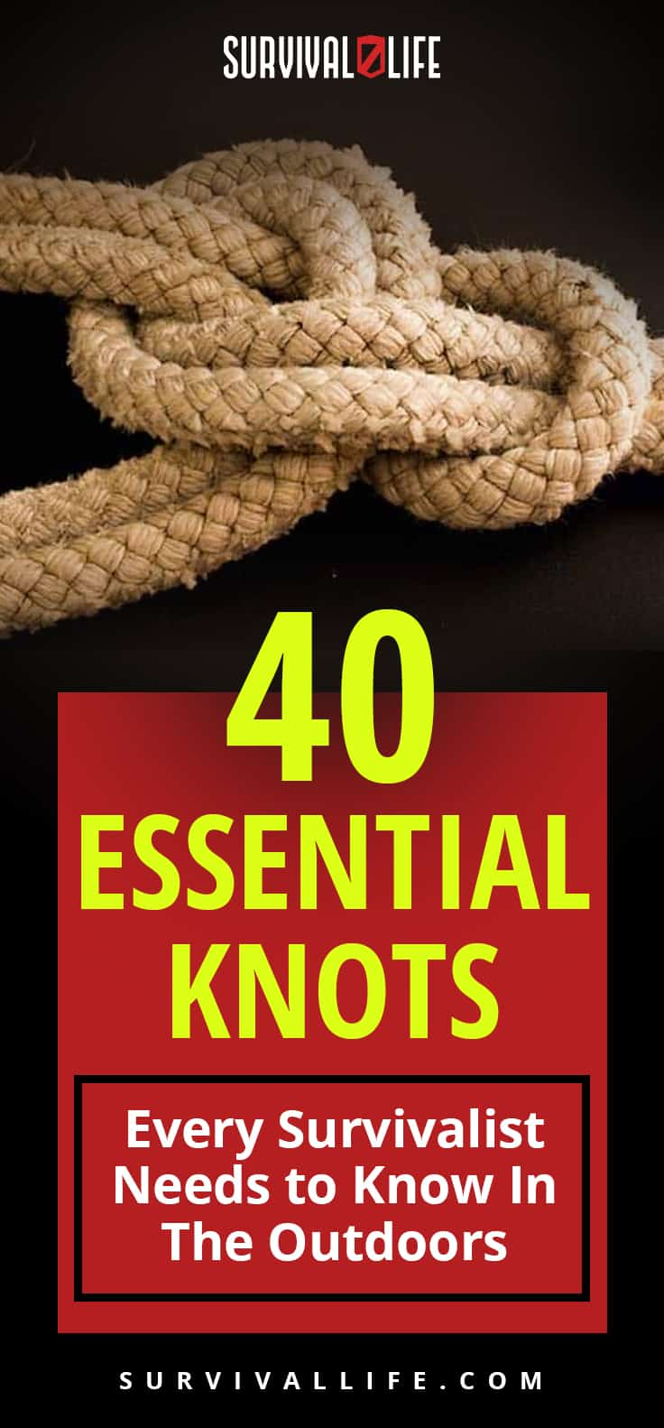 Essential Knots Every Survivalist Needs To Know   Survival Life
