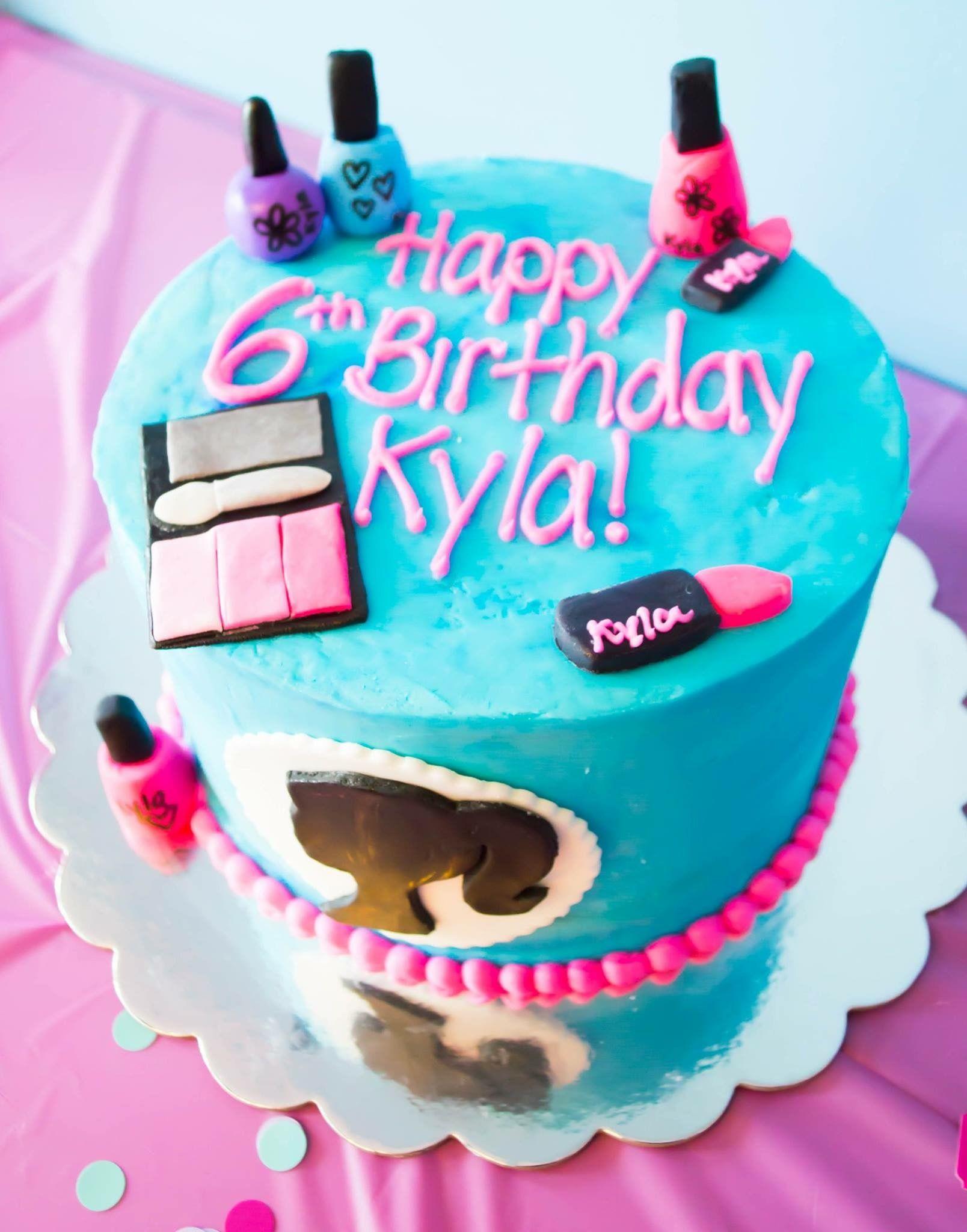 Fabulous Spa Birthday Cake Kids Spa Party Spa Birthday Spa Party Cakes Personalised Birthday Cards Xaembasilily Jamesorg