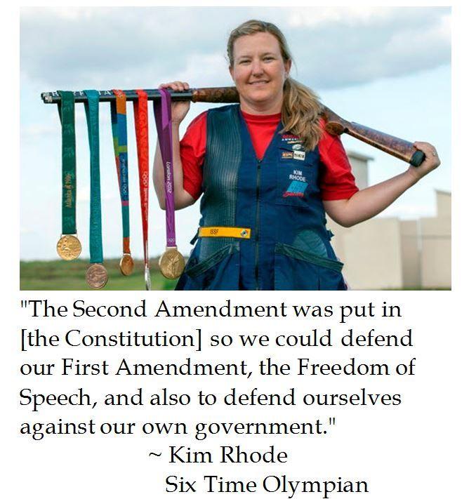 Kim Rhode on the Second Amendment
