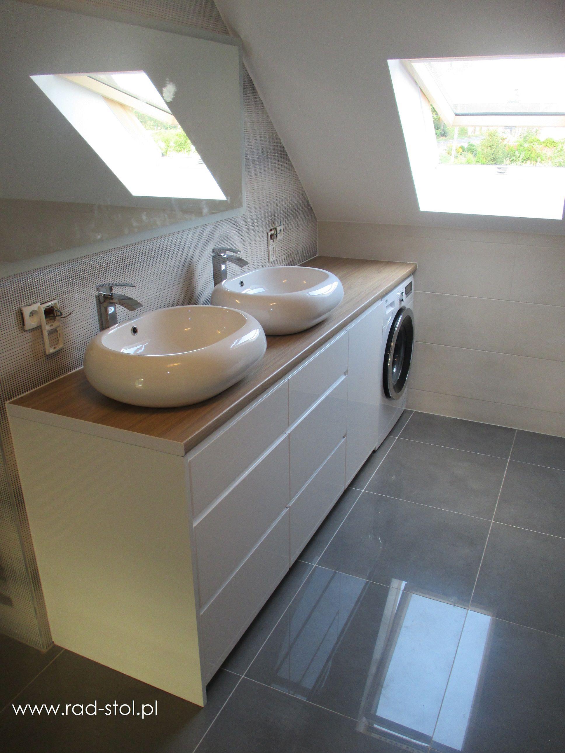 Wybitny Meble łazienkowe na wymiar fronty lakierowane na wysoki połysk i BN87