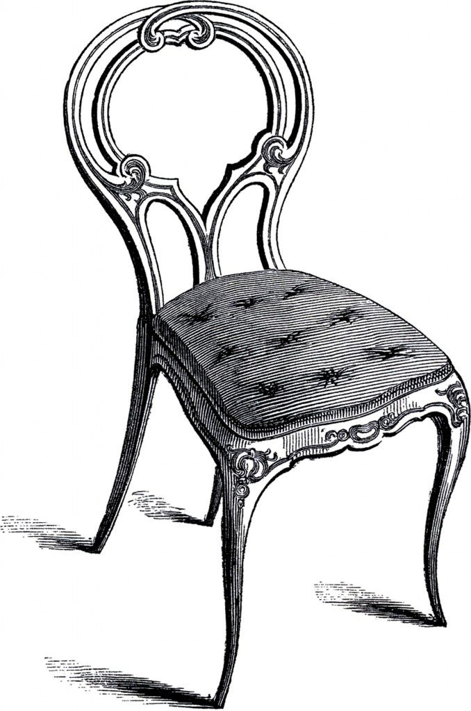 17 Chair Clipart Images Art Chair Graphic Chair Drawing Furniture