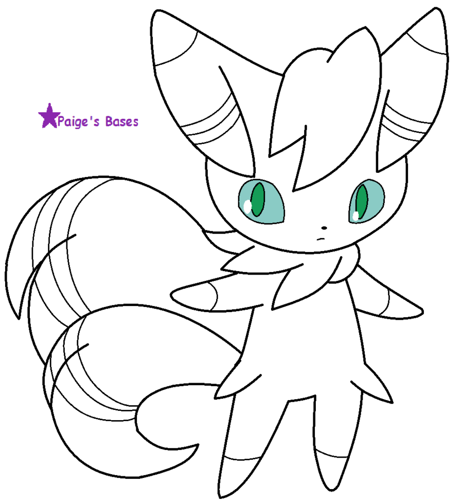 Male meowstic base lineart by paige the unicorn deviantart com on deviantart