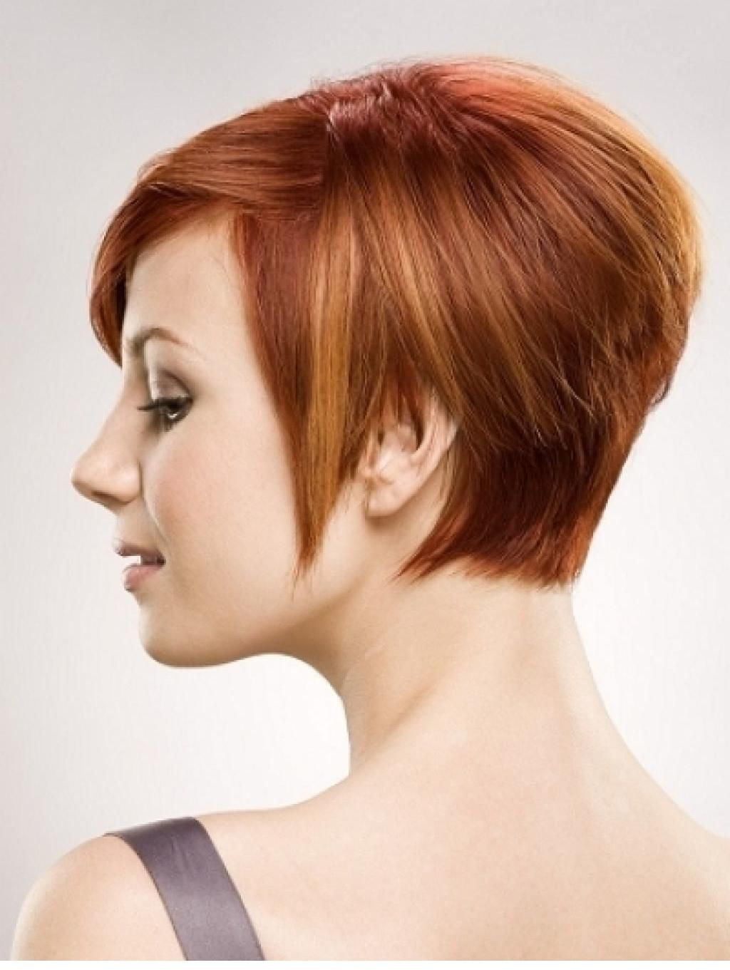 50 Kisa Bayan Sac Modelleri Red Hair With Blonde Highlights