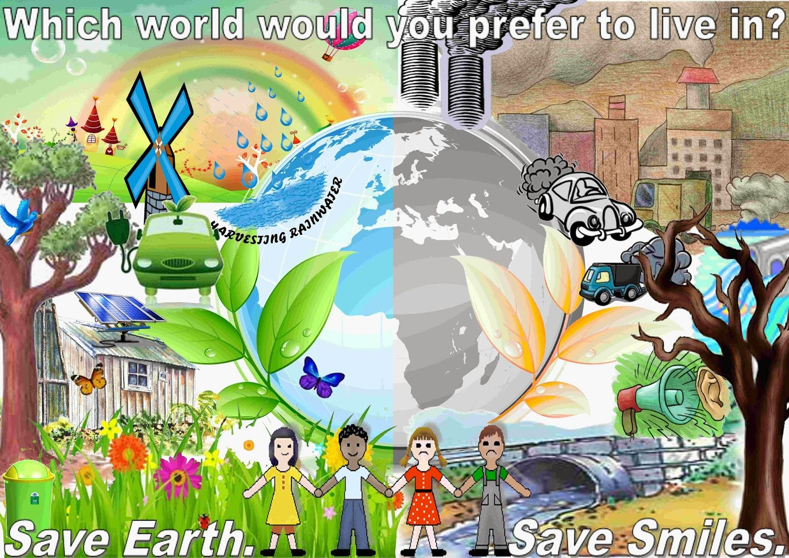 How To Save The Earth From Global Warming Every Nation