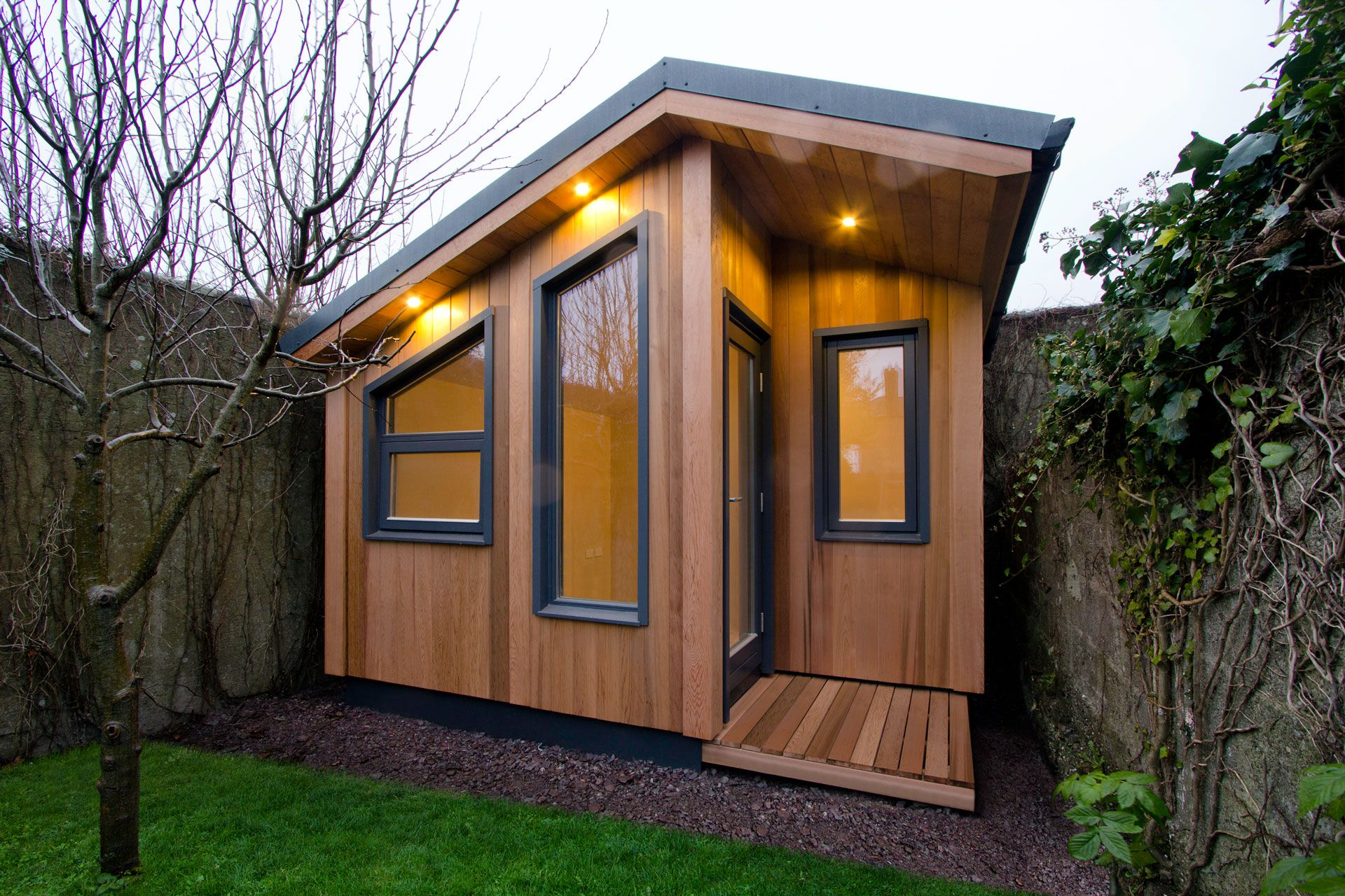 Massage therapy studio contemporary garden rooms by harrison james -  Garden Office