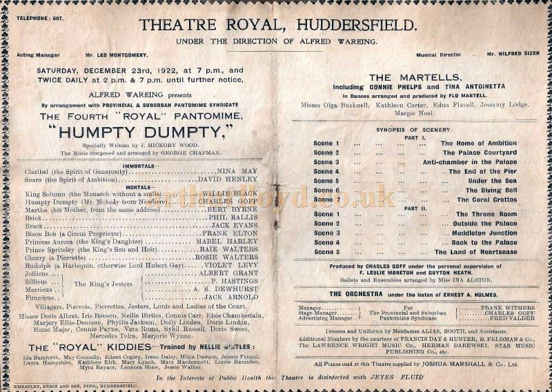 theatre programmes 1950s pages - Google Search | THEATRE PROGRAMMES ...