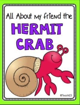 Free Mini Book A House For Hermit Crab Ocean Unit Eric Carle