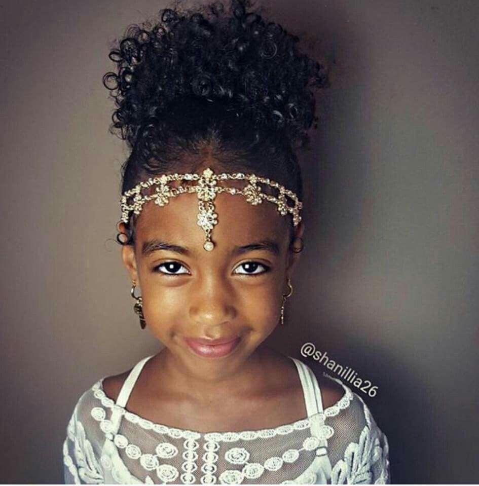 Wedding Hairstyles For Black Little Girls: Beautiful Flower Girl