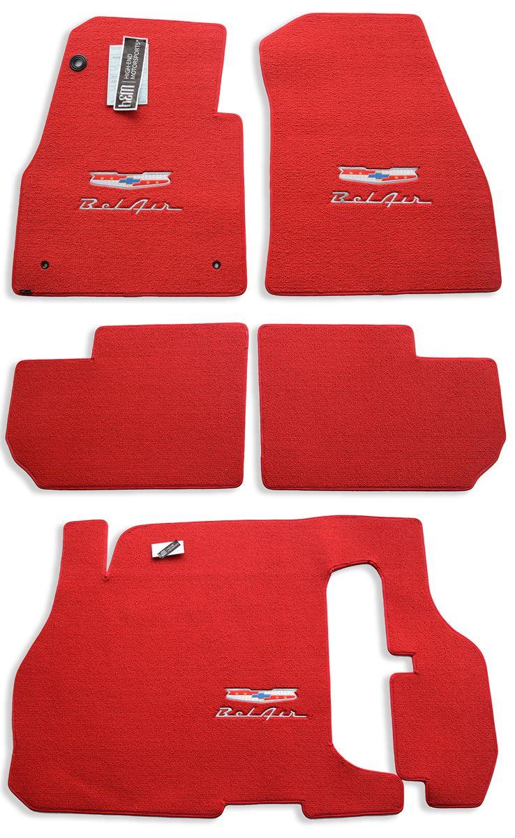 Chevrolet Bel Air Floor Mats Set Chevrolet Bel Air Bel Air