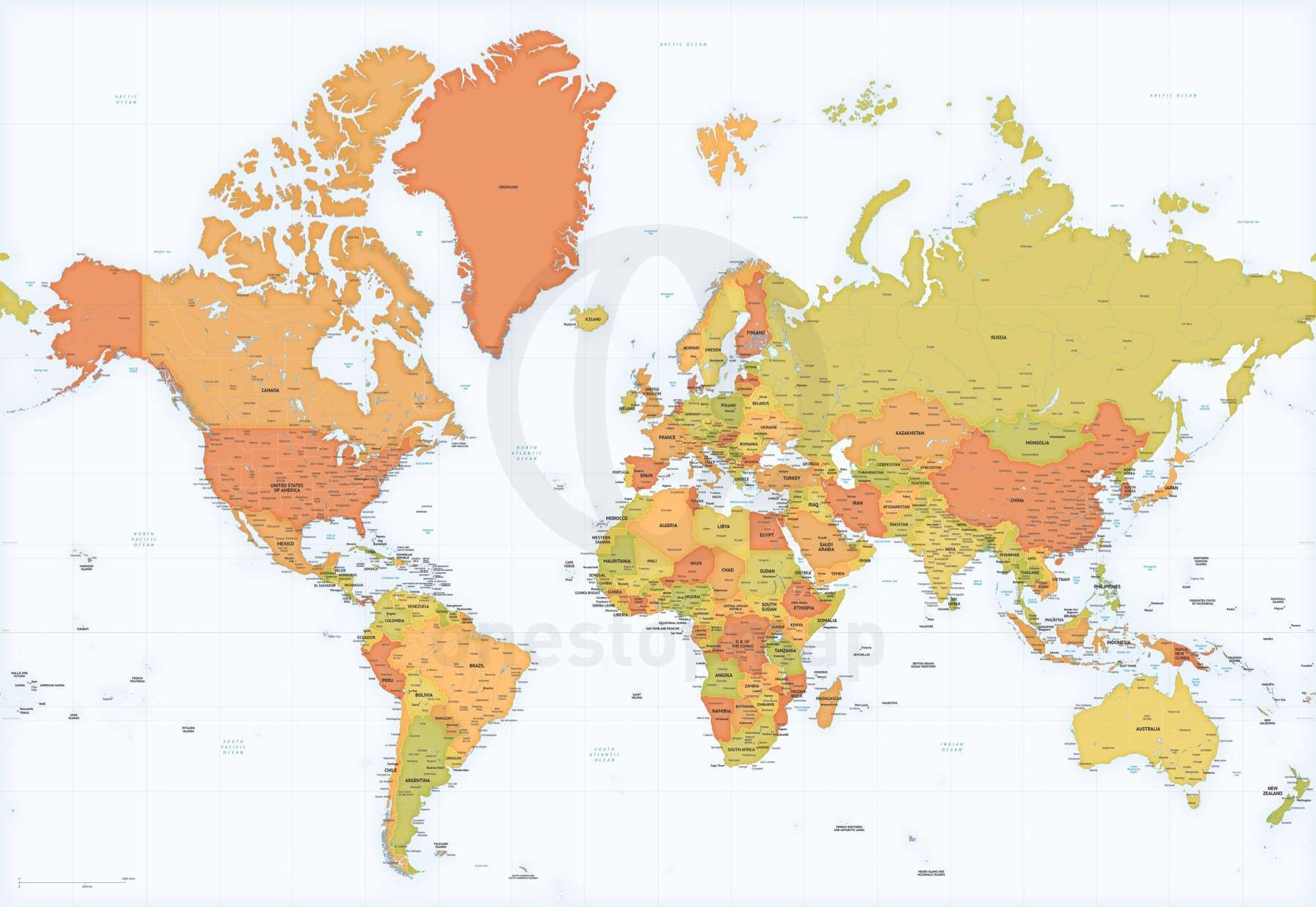 Map of world asia australia centered maps of the world pinterest gumiabroncs Image collections
