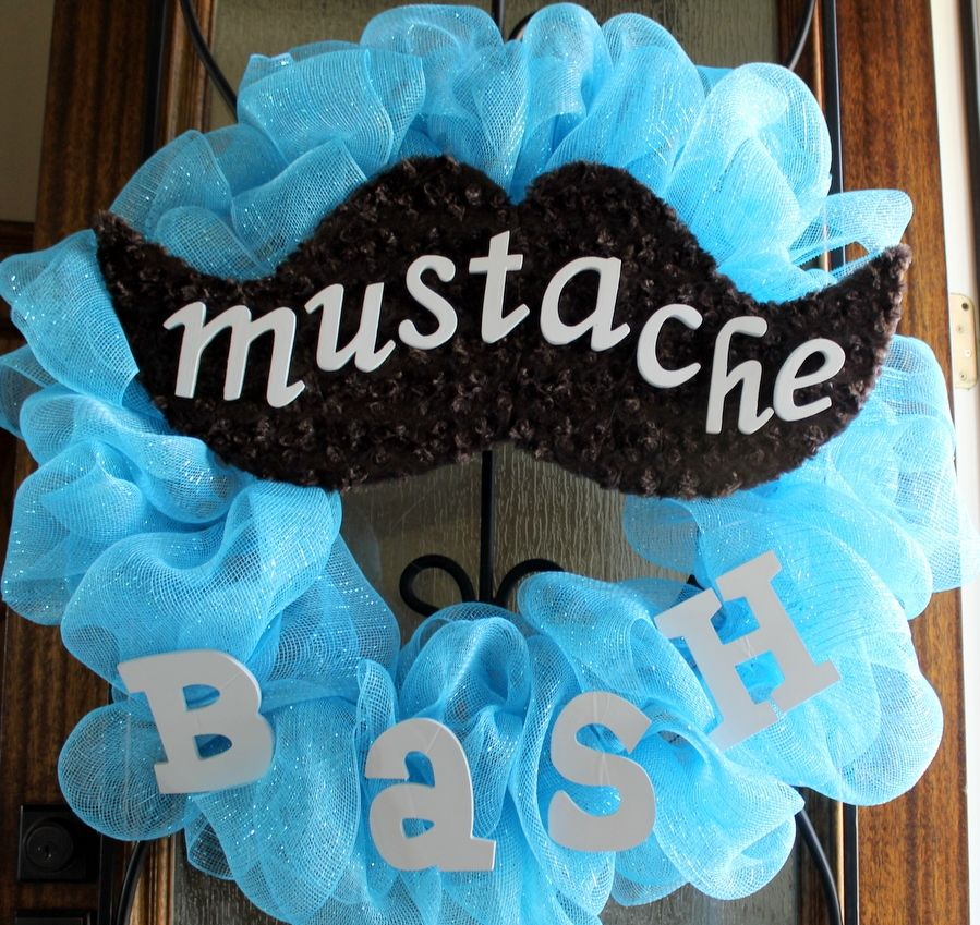 Nice Mustache Baby Shower Decorations #9 Little Man Baby Shower .