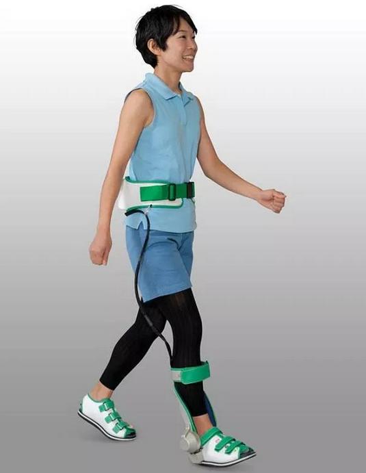 physically-assistive exoskeleton