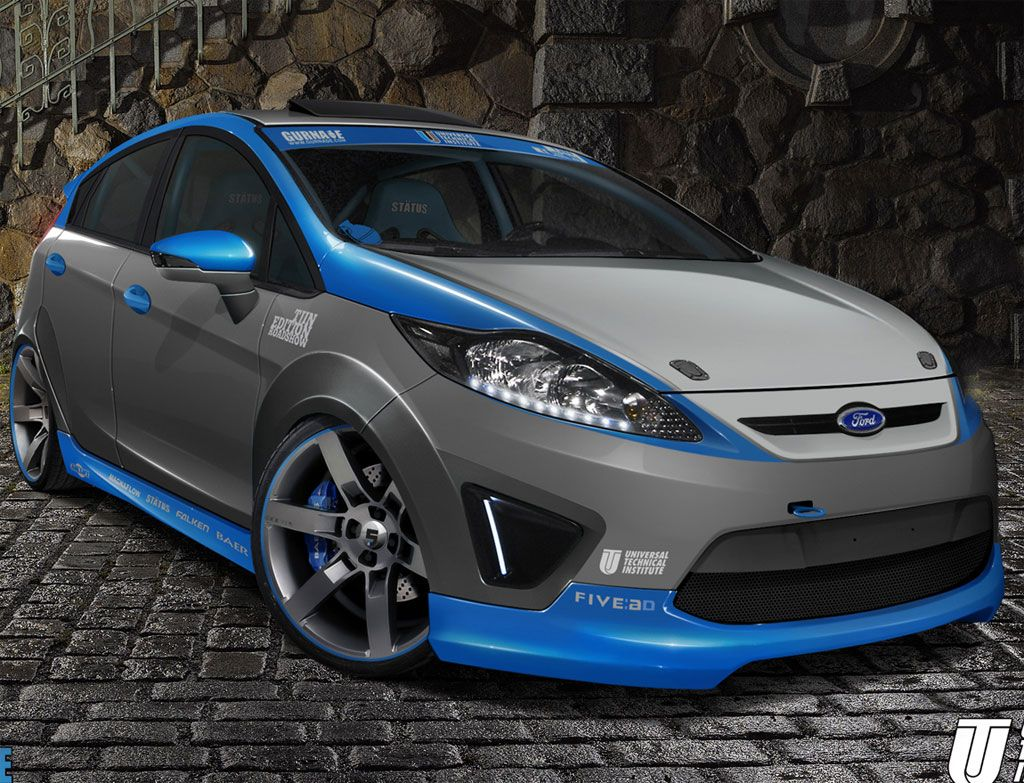 Ford fiesta hd wallpaper 6