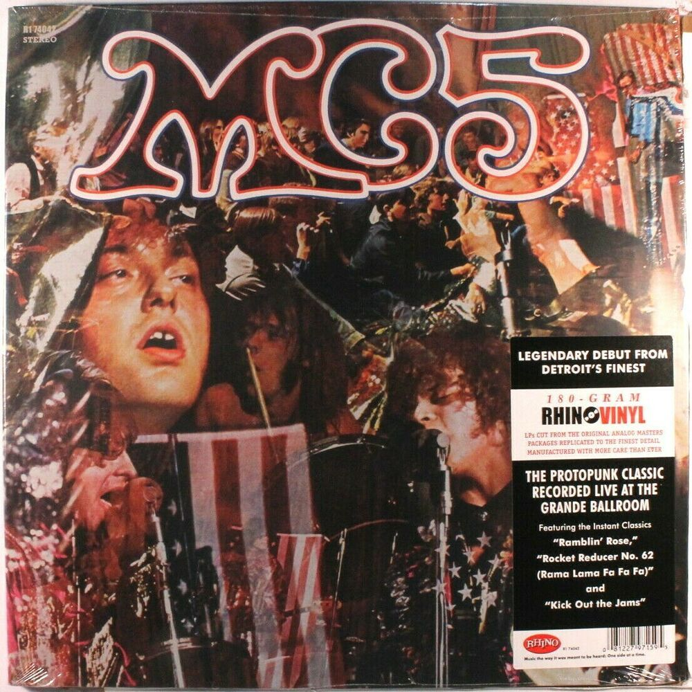 Mc5 Kick Out The Jams 180g Brand New Sealed Lp Vinyl Record Album 180 Gram Vinyl Records Vinylrecords Albums Vinyl Record Album Vinyl Records Lp Vinyl