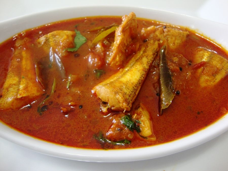 Meen Kuzhambu Recipe Fish Curry South Indian Style Fish Curry Seafood Recipe Easy And Tasty Fish Curry Fish Curry Recipe Indian Food Recipes Curry Recipes