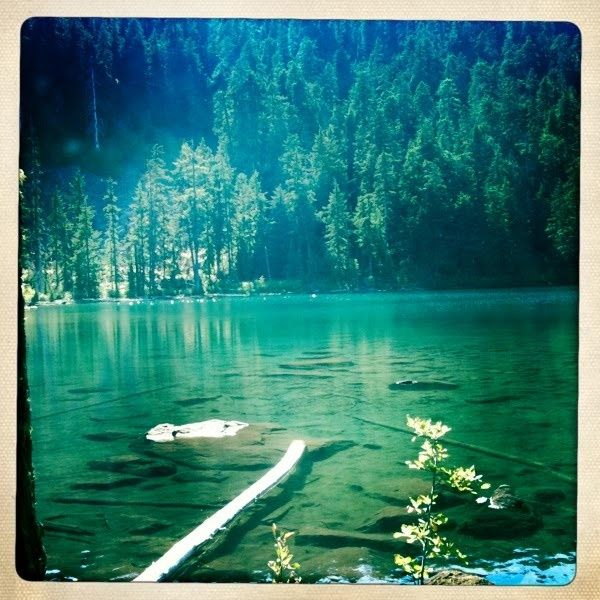Buck Lake At 75 degrees and crystal clear water it may be the