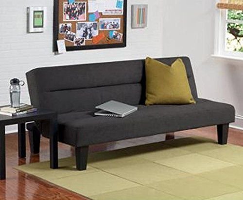 Dorel Home Products Kebo Futon Sofa Bed Black You Can Get More Details By Clicking On The Image
