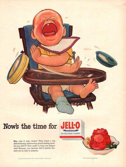 BOGO Jell-O Advertisement Fridge Magnet Vintage Style Buy 1 Get 1 FREE