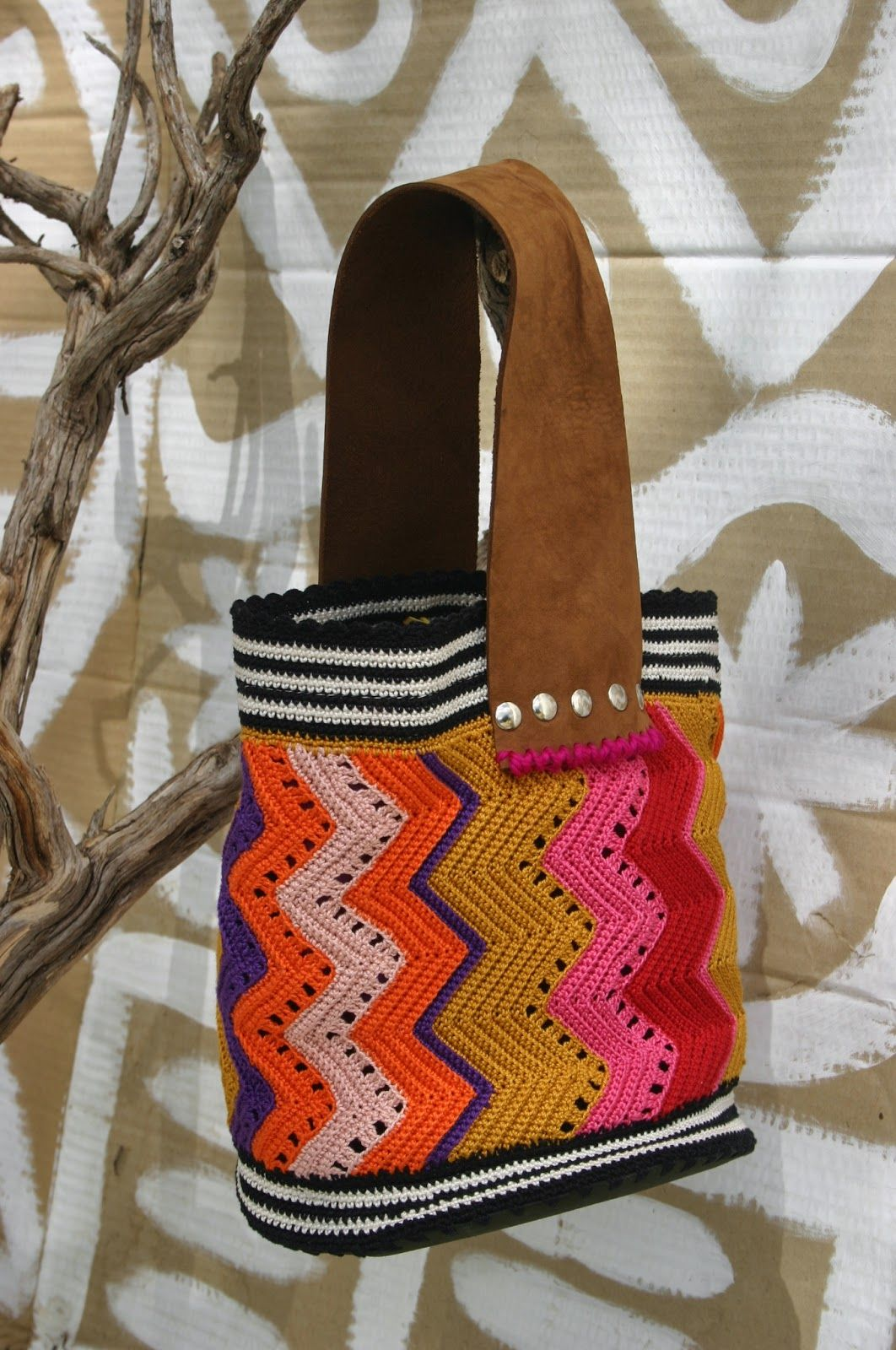 crochet bag by nekka
