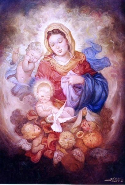 María Madre de Dios en imágenes | Rayito de Colores