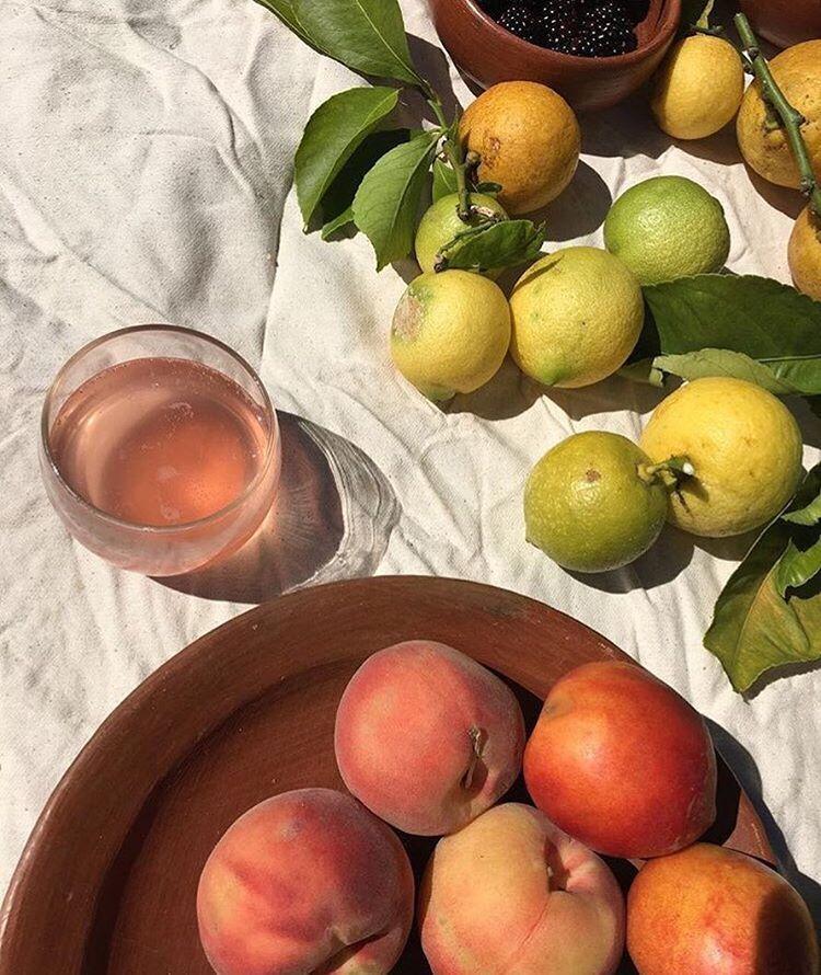 Peaches And Lemons Home Inspo Rysunki Jedzenie I Zdrowe Jedzenie