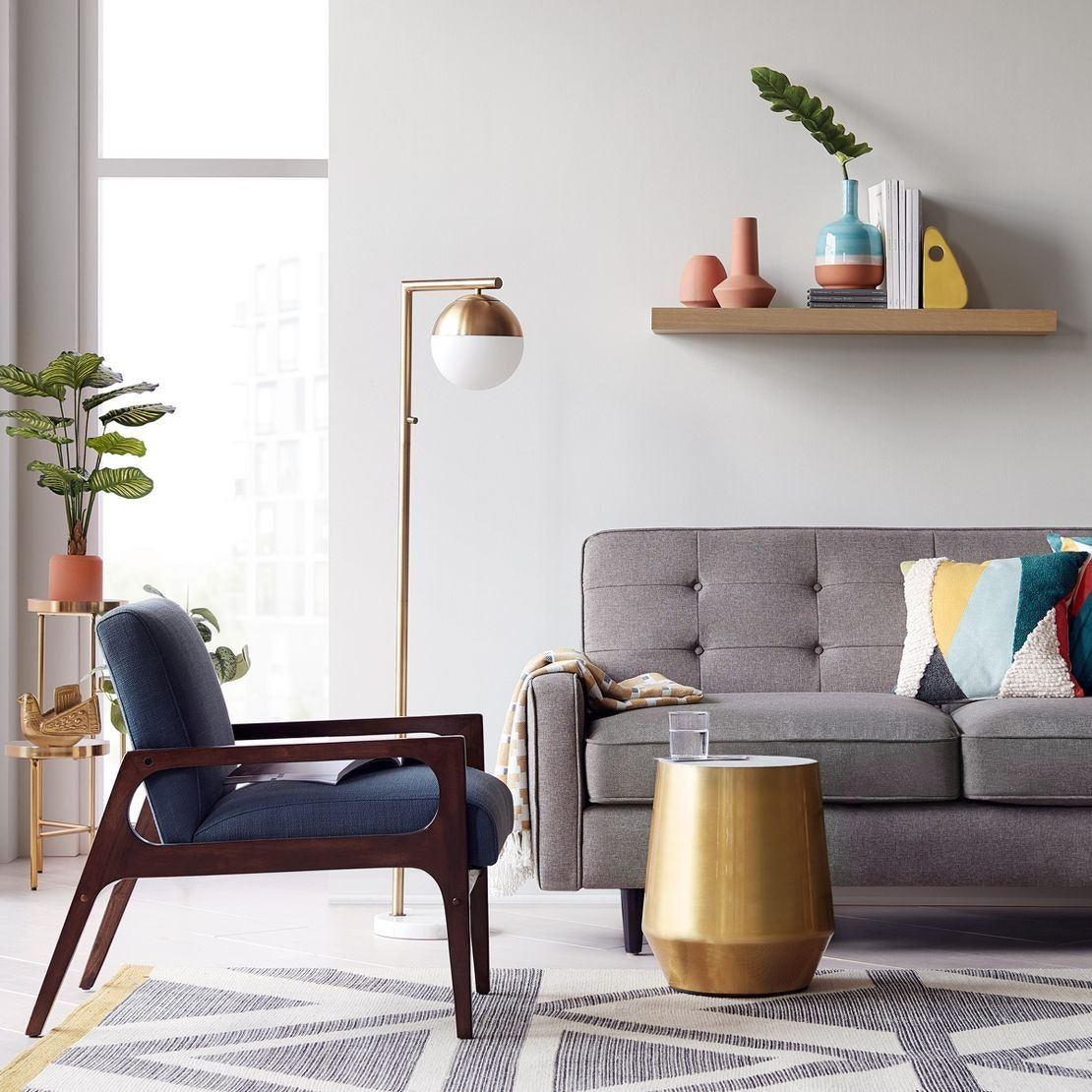 We Asked 5 Designers To Reveal Their Favorite Target Store Brand Spring Living Room Floor Lamps Living Room Living Room Chairs Modern #target #living #room #decor