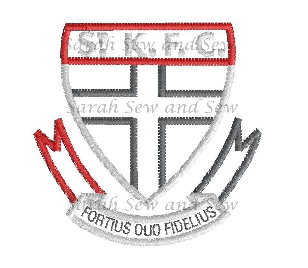 St Kilda Embroidery Design Embroidery Designs Digitized Embroidery Designs Machine Embroidery Designs