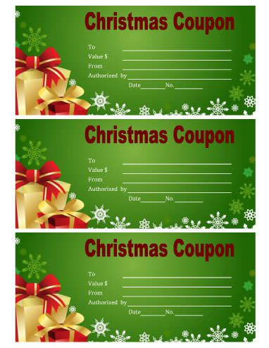 running out of gift ideas download our printable christmas coupons