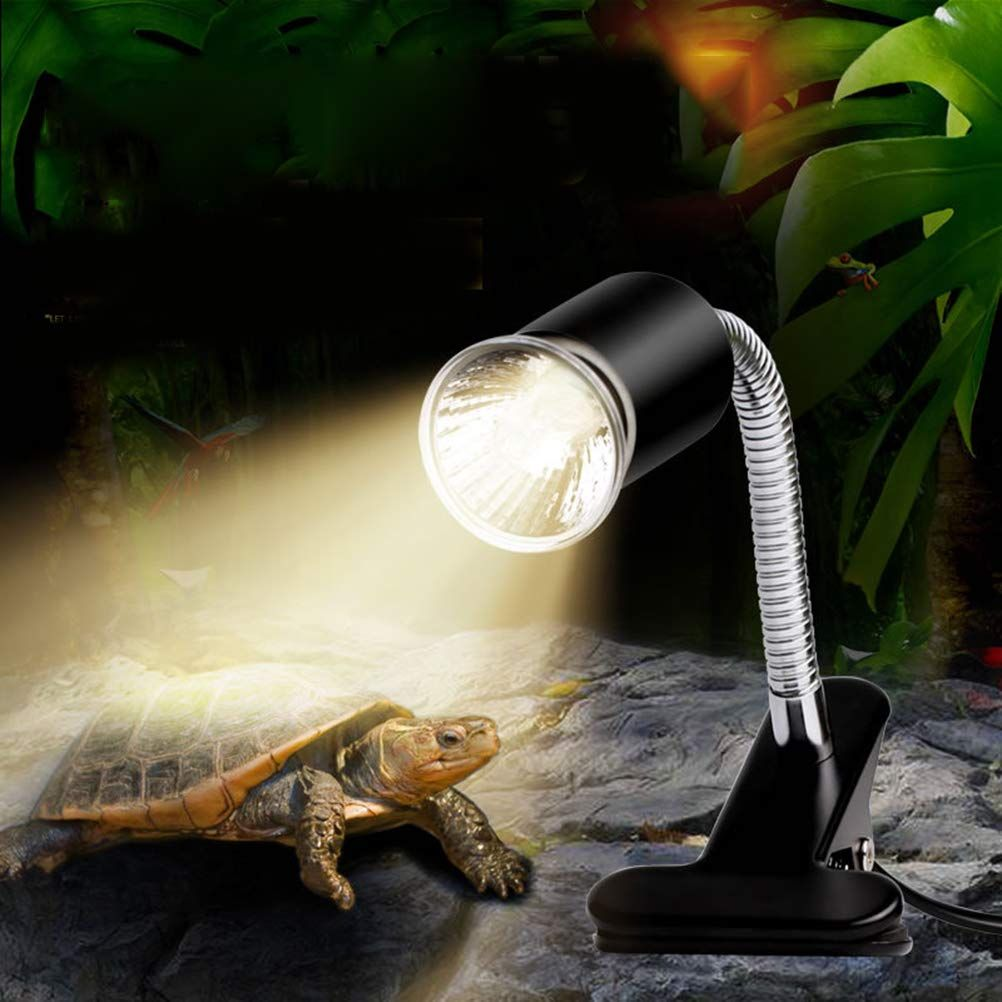 Ledmomo 110v 50w Basking Light For Reptile Snake Lizard Insect Turtle Tortoise Sunburn Lights Heating Lamp Sunlamp Ultravio Lamp Aquarium Lighting Ultra Violet