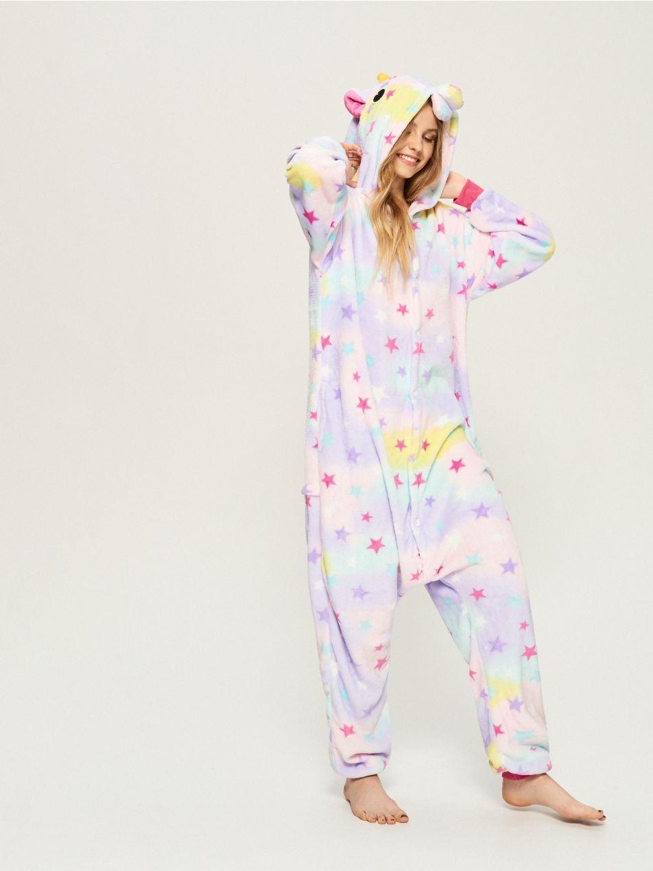 Egyszarvús pizsama kezeslábas - többszínű - VE882-MLC - Sinsay - 1 ... 36ded8637b