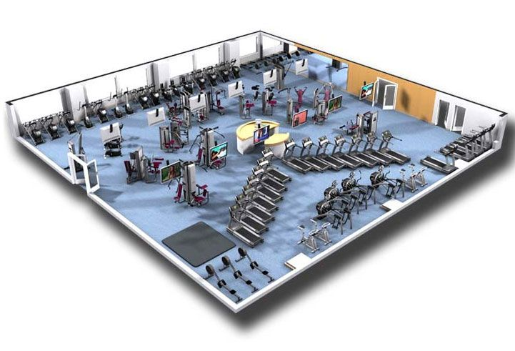 #fitness #design #studio #hendon #center #cybex #lab #spaCybex Design Studio: Lab Spa Hendon Fitness...