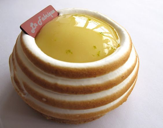 Tarte au citron meringué - La Fabrique à Gâteaux: