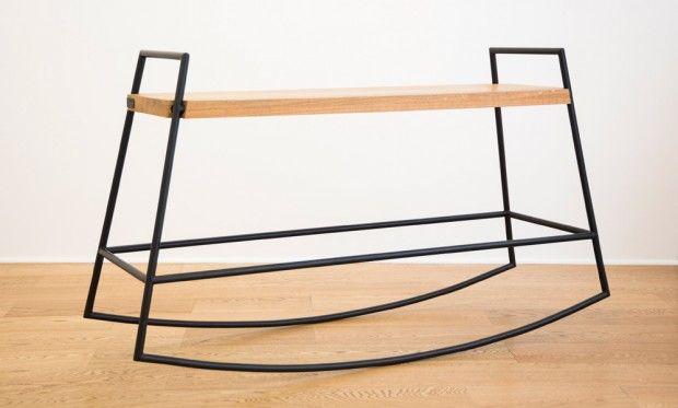 EQUI, banc à bascule par YADE - Journal du Design