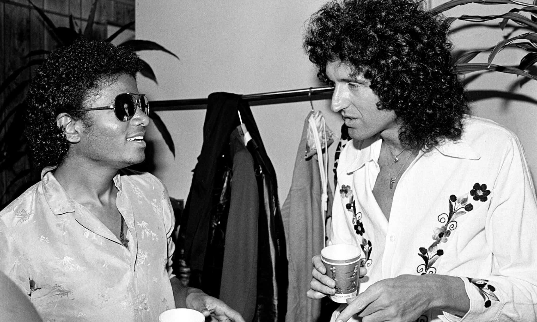 Queen and Michael Jackson – in pictures #michaeljackson