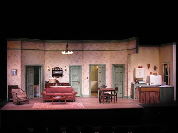A Raisin in the Sun. Set design by Don David.